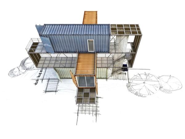 Architecture container