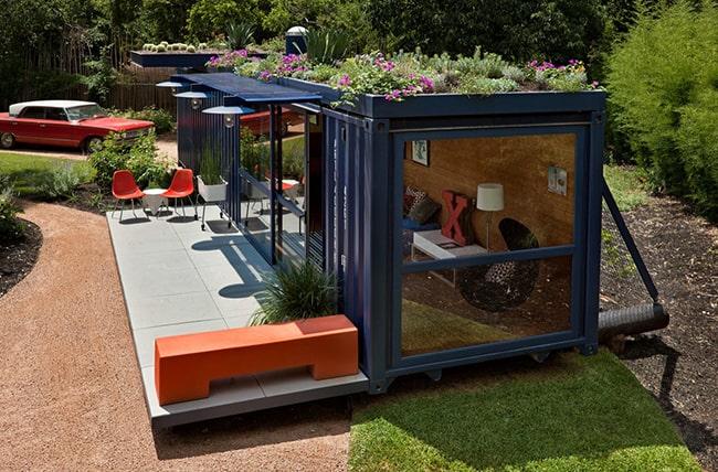 container - Container aménagé restaurant